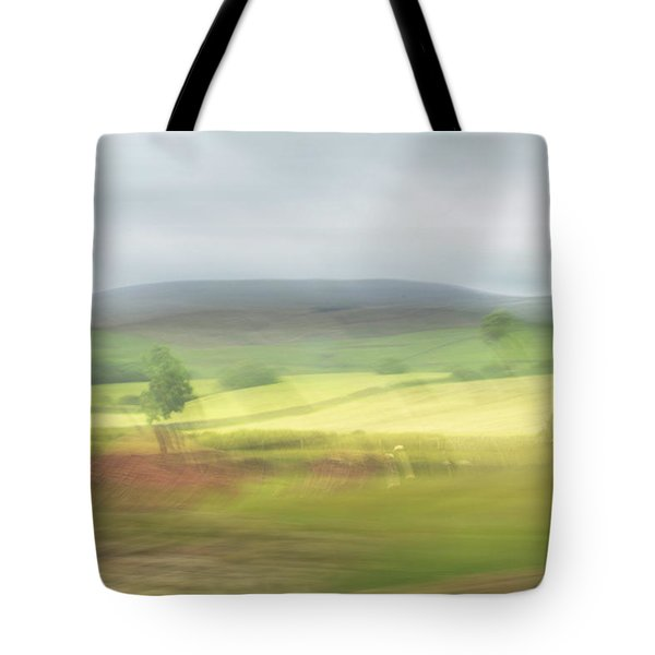 Tote Bag featuring the photograph In Yorkshire 1 by Dubi Roman