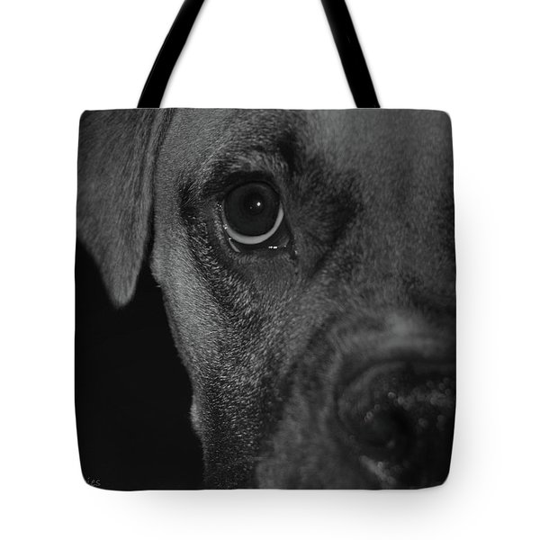 In Your Face Tote Bag by DigiArt Diaries by Vicky B Fuller