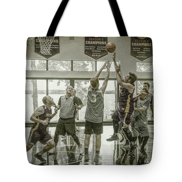 Tote Bag featuring the photograph In Your Face by Ronald Santini