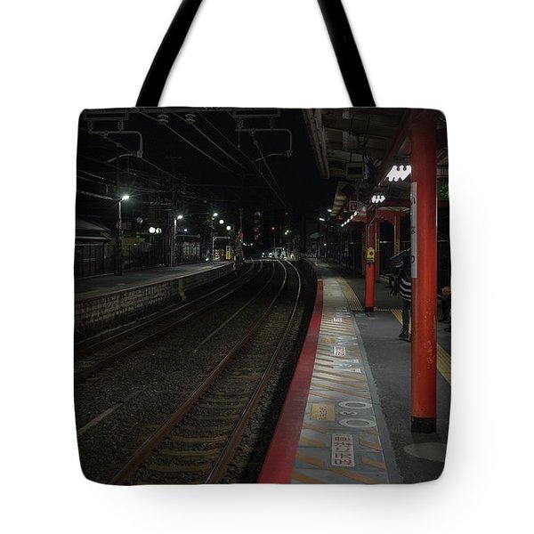 Inari Station, Kyoto Japan Tote Bag