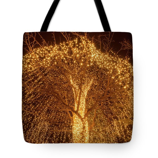 Incandescent Branches  Tote Bag