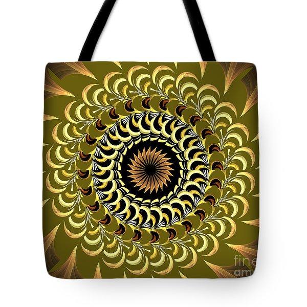 Incendia Kaleidoscope Tote Bag by Deborah Benoit