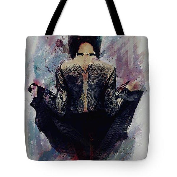 Incite - Dark Angel Tote Bag