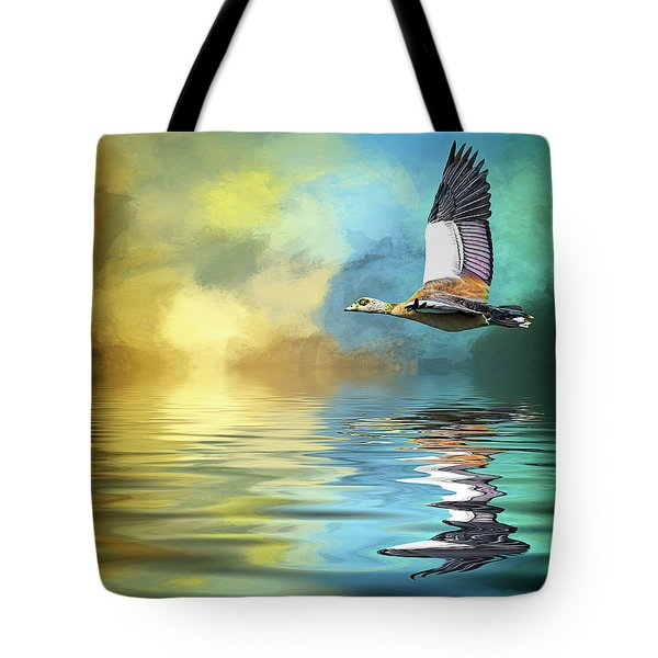 Incoming Tote Bag by Cyndy Doty