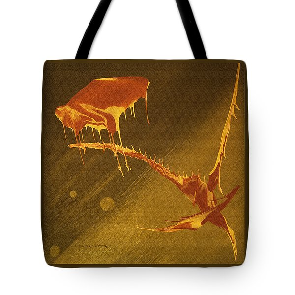 Incoming Message Tote Bag by Robert G Kernodle