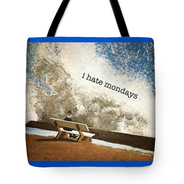 Incoming - Mondays Tote Bag by Thomas Blood