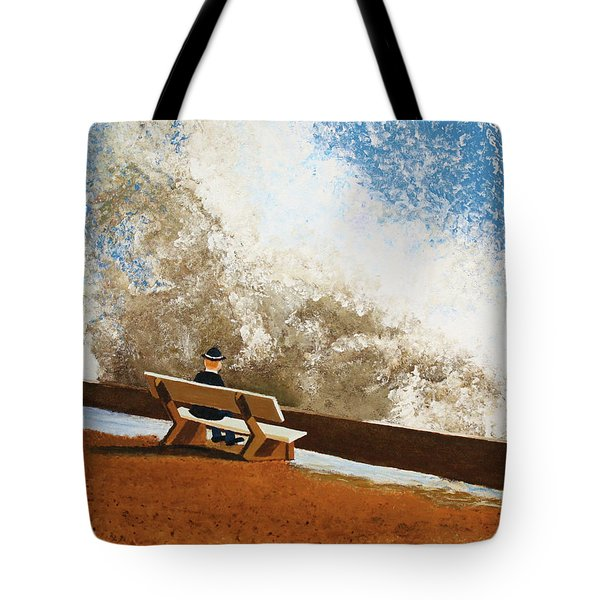 Incoming Tote Bag by Thomas Blood