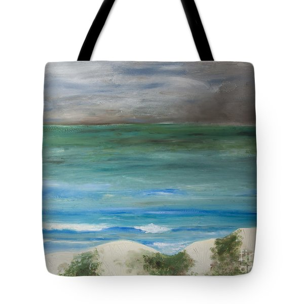 Incoming Weather Tote Bag