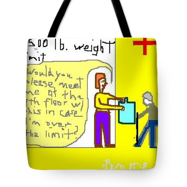 Inconsideration Tote Bag by Lenore Senior