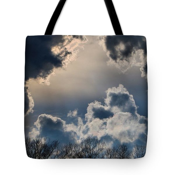 Incredible Clouds Tote Bag