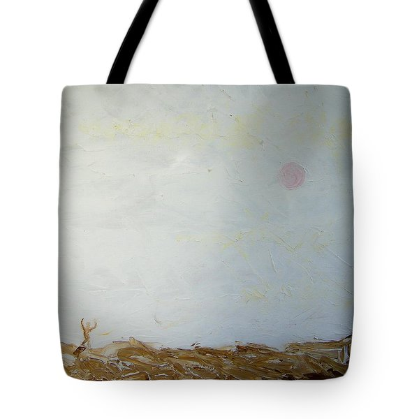 Tote Bag featuring the painting Incredible Lightness Of Being by Lenore Senior