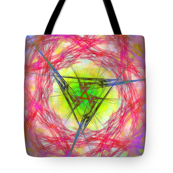 Tote Bag featuring the digital art Incrusaded by Andrew Kotlinski