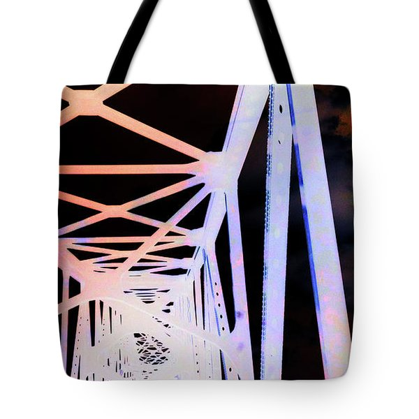 Tote Bag featuring the photograph Indefinite Sight In by Jamie Lynn