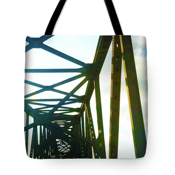 Tote Bag featuring the photograph Indefinite Sight by Jamie Lynn