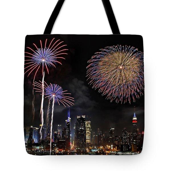 Independence Day Tote Bag by Roman Kurywczak