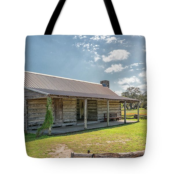 Independence Texas Cabin Tote Bag