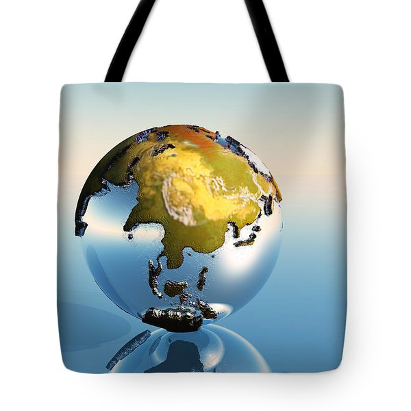 India, Asia, Japan Tote Bag by Corey Ford