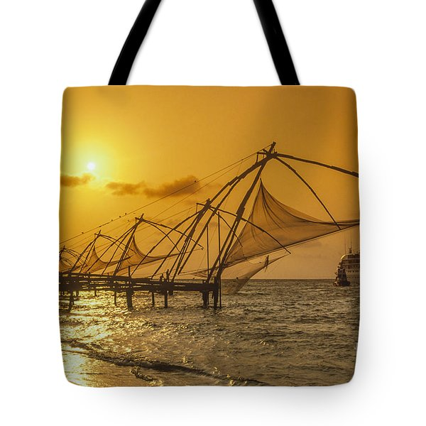 Tote Bag featuring the photograph India Cochin by Juergen Held