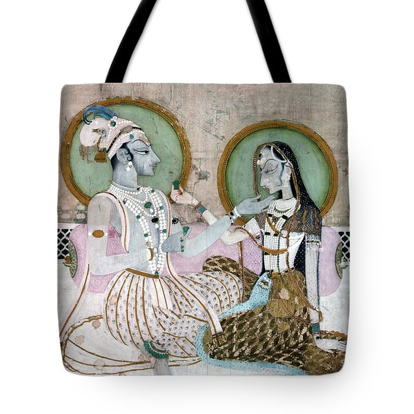 India: Couple Tote Bag by Granger