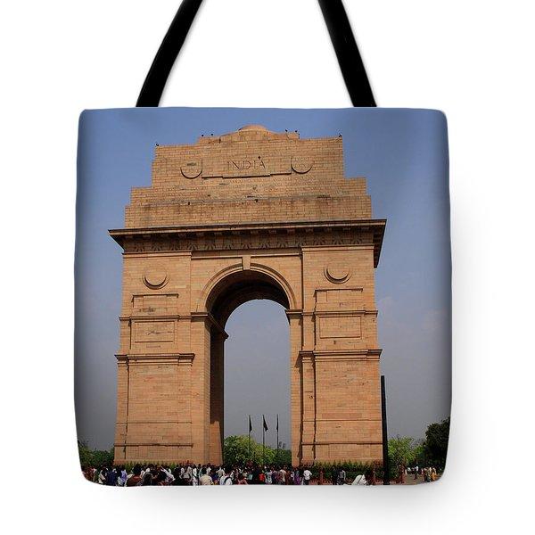 India Gate - New Delhi - India Tote Bag