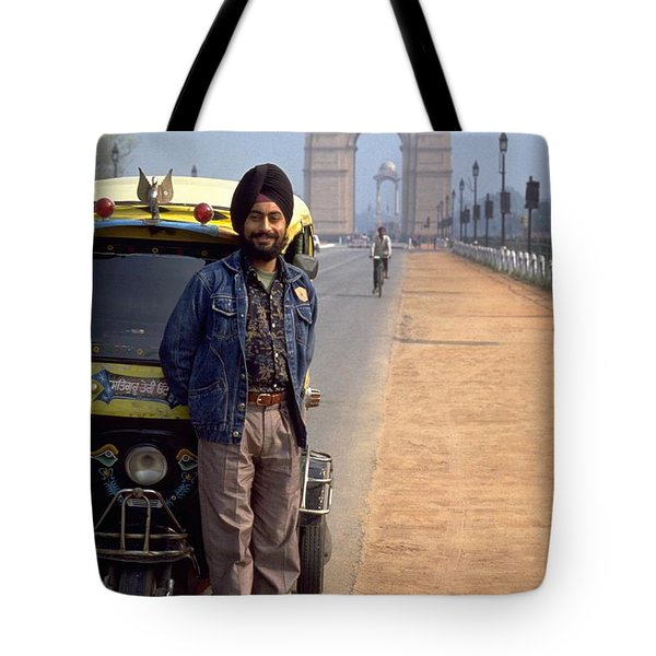 India Gate Tote Bag