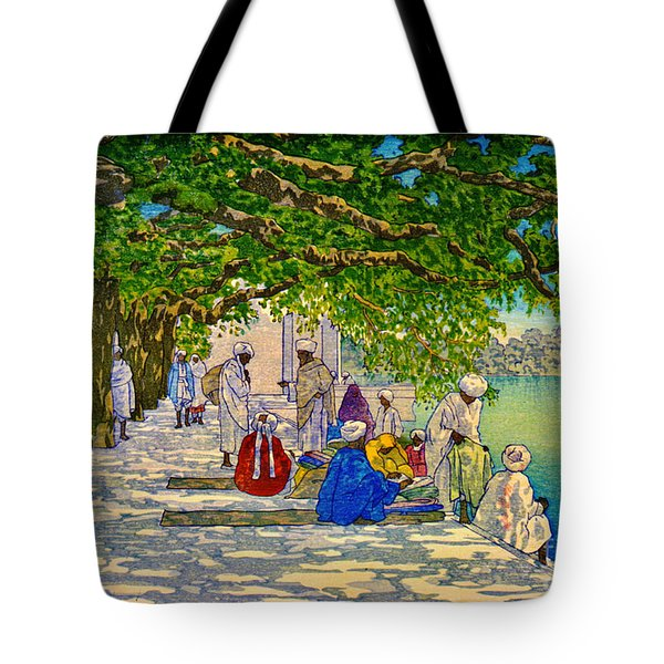 India Silk Merchants 1920 Tote Bag by Padre Art