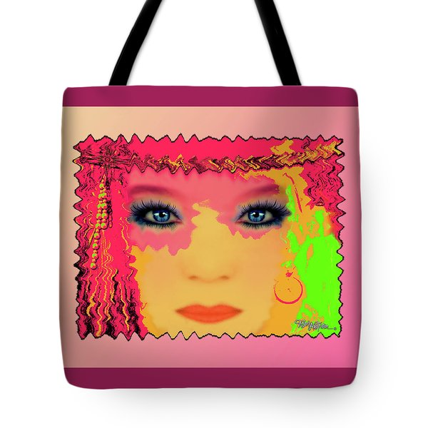 Tote Bag featuring the photograph Indian #193 by Barbara Tristan