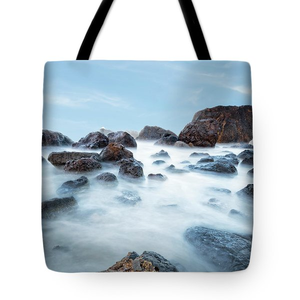 Indian Beach At Ecola State Park, Oregon  Tote Bag