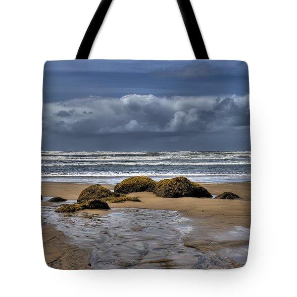Indian Beach Tote Bag