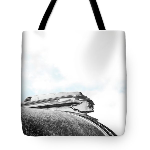 Indian Chief Hood Ornament Tote Bag