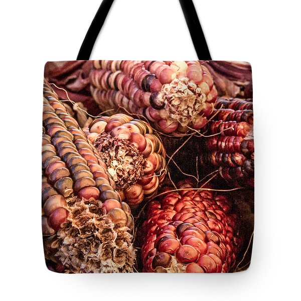 Indian Corn Tote Bag