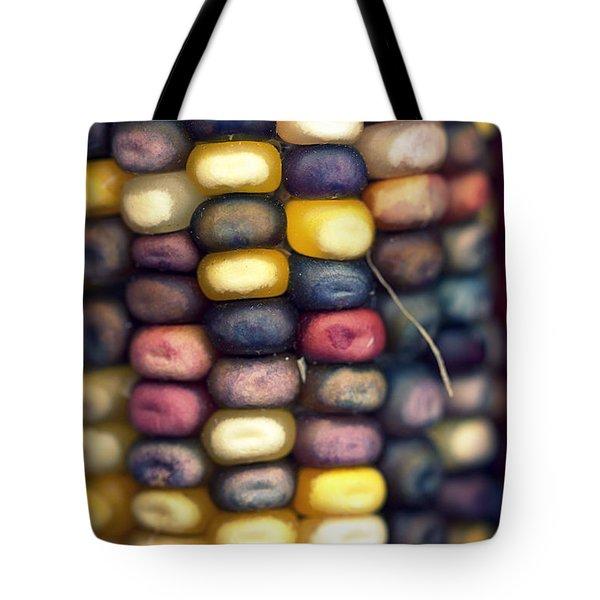Indian Corn Tote Bag by Joseph Skompski