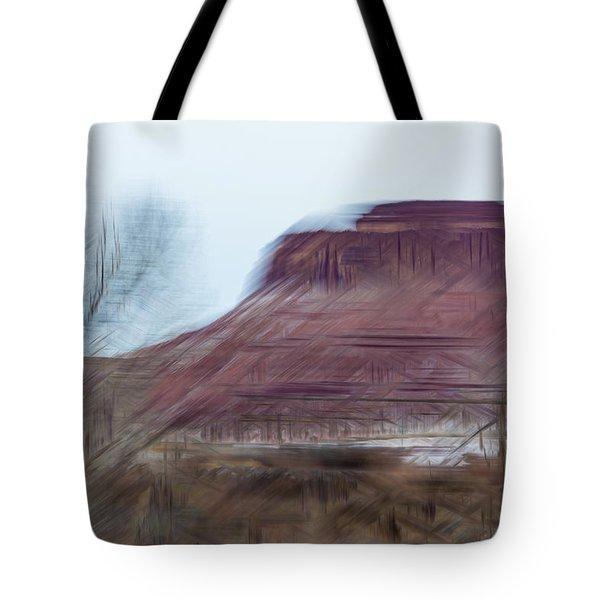 Indian Creek Winter Tote Bag