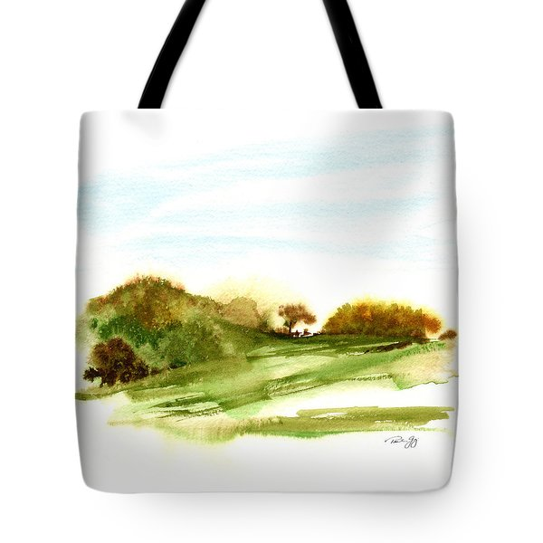 Indian Hill Groton Ma Tote Bag