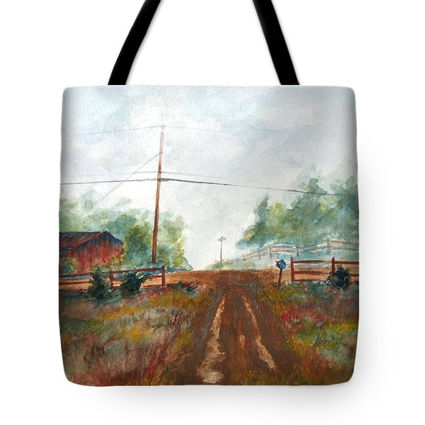 Indian Hills Tote Bag
