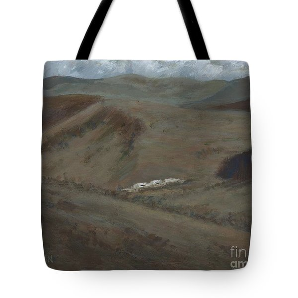 Indian Lodge - A View From The Top Ft. Davis, Tx Tote Bag