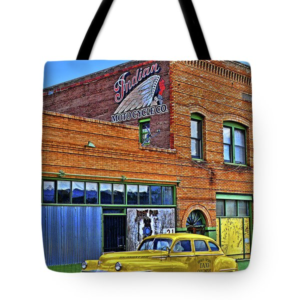 Indian Motocycle Co. Tote Bag