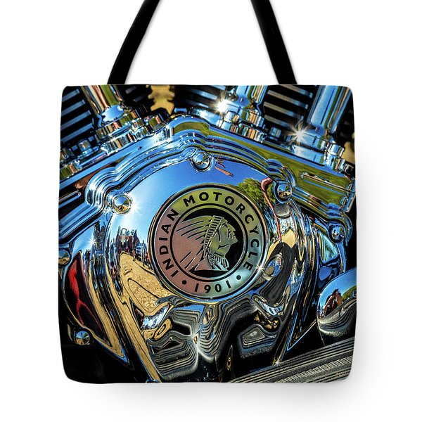 Indian Motor Tote Bag