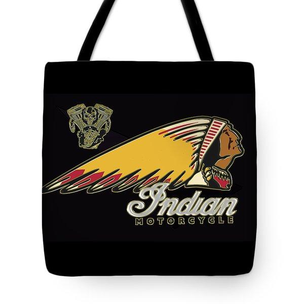 Indian Motorcycle Logo Series 2 Tote Bag