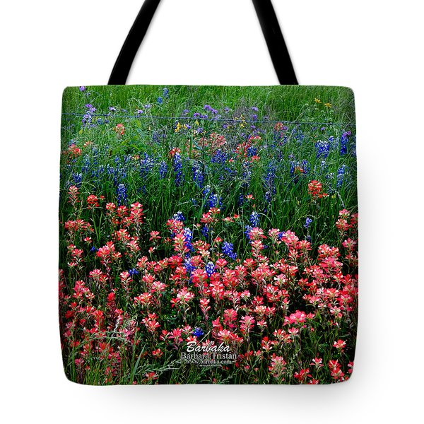 Indian Paintbrush #0486 Tote Bag