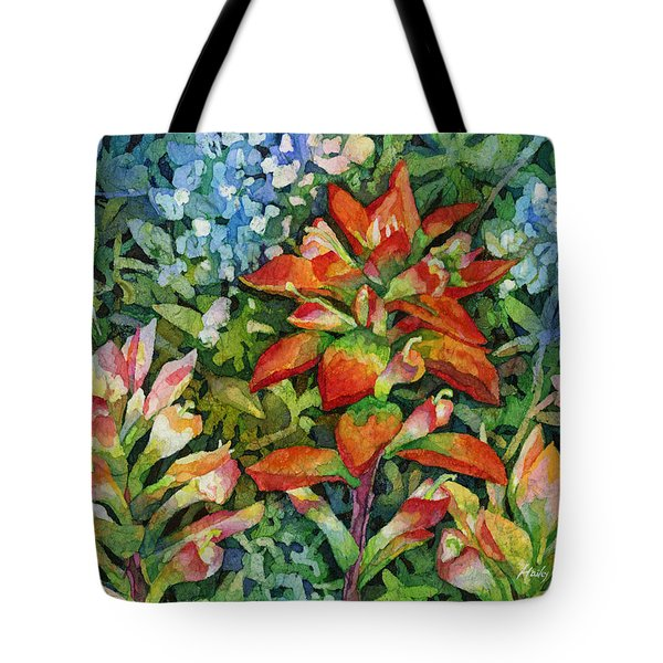 Indian Paintbrush Tote Bag