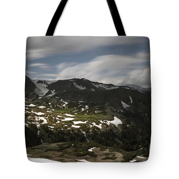 Tote Bag featuring the photograph Indian Peaks Wilderness by Keith Kapple