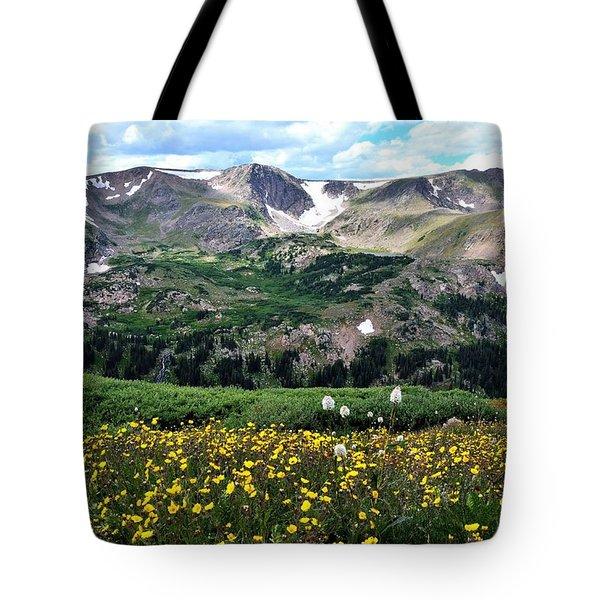 Indian Peaks Wilderness Tote Bag