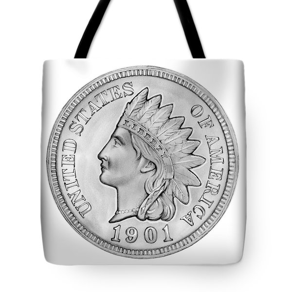 Indian Penny Tote Bag