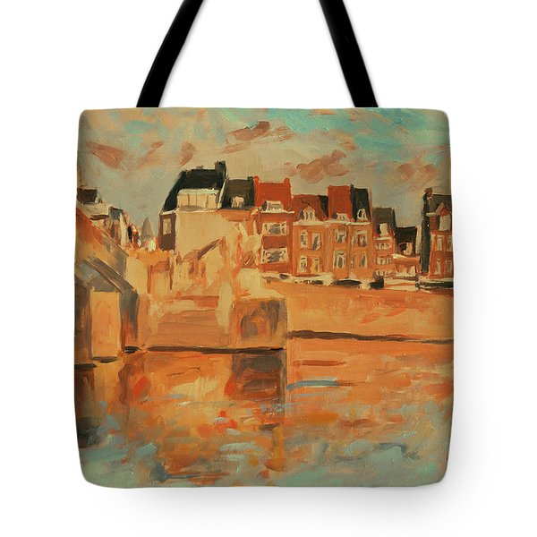 Indian Summer Sunday Sunset Tote Bag
