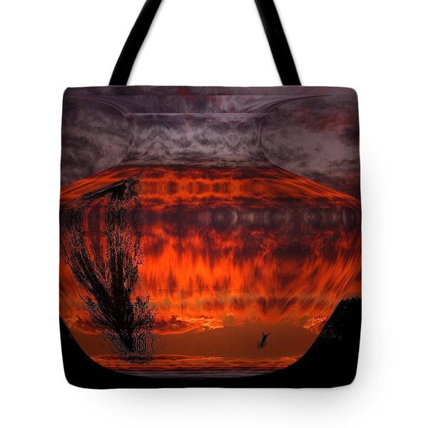 Tote Bag featuring the photograph Indian Summer Sunrise by Joyce Dickens
