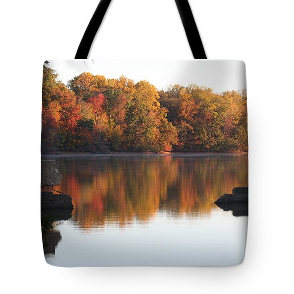Tote Bag featuring the photograph Indian Summer by Vadim Levin