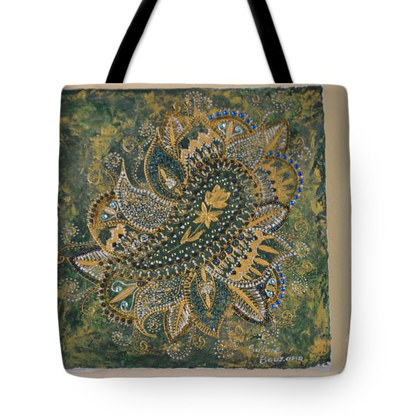 Indian Tote Bag by Sylvie Leandre