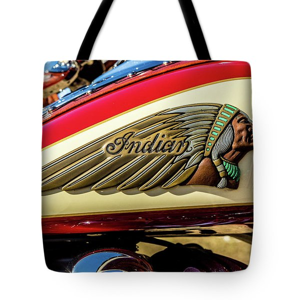 Indian Tank Tote Bag
