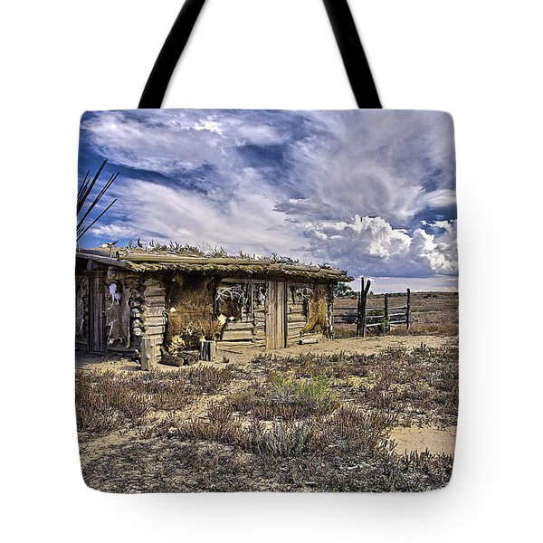 Indian Trading Post Montrose Colorado Tote Bag by James Steele